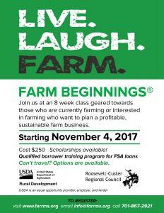 Farm Beginnings Flyer