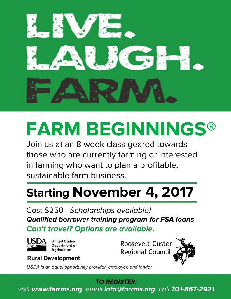 Farm Beginnings Flyer