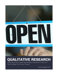 Qualitative Research in Stark County Report Cover