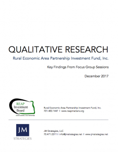 Qualitative Research in Stark County report page